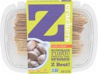 Z Crackers Garlic & Basil Crackers - 8 oz