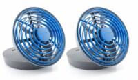 Treva 5  USB Powered Desk Fan, 2 Pack, Blue - 2