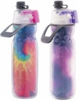 O2COOL Mist N' Sip® Water Bottle, 2 Pack, Tie Dye & Celestial - 2