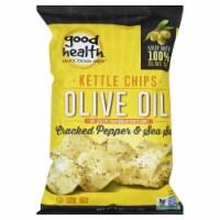 Good Health Inc.  Kettle Style Olive Oil Potato Chips  Cracked Pepper & Sea Salt
