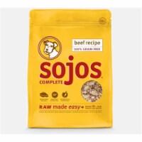 Sojos SJ11105 4 oz Adult Trial Beef Freeze Dried Dog Food - 1