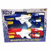Water Sports 262976 Battlepack Toy Water Guns - 6 Piece