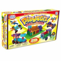 Popular Playthings Playstix Deluxe Set Construction Toy