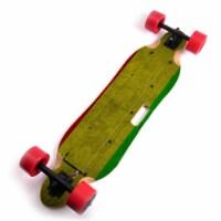 MightySkins BLITO-Yeah Mon Skin for Blitzart Tornado 38 in. Electric Skateboard - Yeah Mon - 1