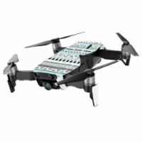 MightySkins DJMAVAIMIN-Turquoise Tribal Skin for DJI Mavic Air Drone, Turquoise Tribal - 1