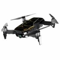 MightySkins DJMAVAIMIN-Black Gold Marble Skin for DJI Mavic Air Drone, Black Gold Marble