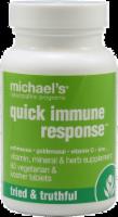 Michael's Naturopathic Programs Quick Immune Response Vegetarian Tablets