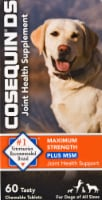Nutramax Cosequin DS Plus MSM for Dogs Chewable Tablets