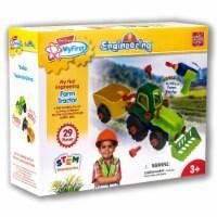 Edu-Toys MyFirst Engineering Farm Tractor Ages 3+ - 1