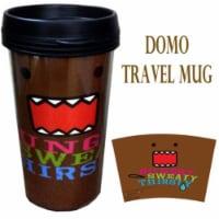 Precious Kids 81008 Domo 15 oz. Plastic Travel Mug - 1