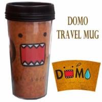 Precious Kids 81009 Domo 15 oz. Plastic Travel Mug - 1