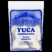La Nuestra Frozen Cassava - 18 oz