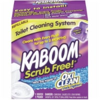Kaboom  Scrub Free  Clean Scent Toilet Bowl Cleaner  1.38 oz. Tablet - Case Of: 1; - Count of: 1