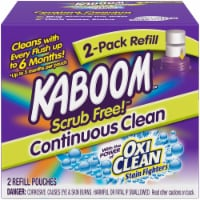Kaboom  Scrub Free  Fresh Scent Toilet Bowl Cleaner  2 oz. Tablet - Case Of: 1; - Count of: 1