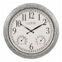La Crosse Technology Silas Indoor/Outdoor Wall Clock