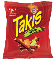 Takis Nitro Habanero and Lime Tortilla Chips