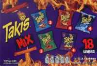 Takis Tortilla Chips Variety Pack