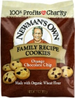 Newman's Own Orange Chocolate Chip Family Recipe Cookies