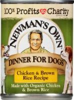 Newman's Own Chicken & Brown Rice Premium Wet Dog Food