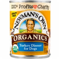 Newman's Own Organic Grain Free Turkey Dinner for Dogs Wet Dog Food