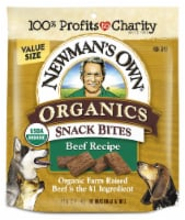 Newman's Own Organics Beef Snack Bites Dog Treats - 12 oz