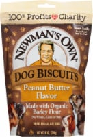 Newman's Own Peanut Butter Flavor Dog Biscuits