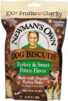 Newman's Own Turkey & Sweet Potato Dog Biscuits