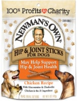 Newman's Own Hip & Joint Chicken Recipe Snack Sticks For Dogs