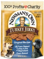 Newman's Own Original Recipe Turkey Jerky Dog Treats