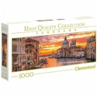 Clementoni Panorama-The Grand Canal-Venice-1000 Piece Puzzle - 1