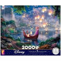 Disney Thomas Kinkaid Disney Tangled 2000 Piece Puzzle - 1
