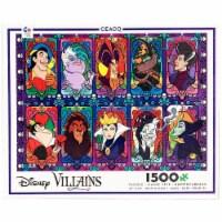 Ceaco Disney Villains 1500 Piece Jigsaw Puzzle