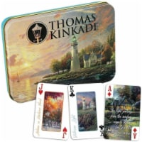Ceaco Thomas Kinkade Deluxe Playing Cards - 1