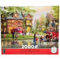 Ceaco Fire Station Jigsaw Puzzle 2000 Pieces - 1