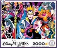 Ceaco Disney Villains Jigsaw Puzzle, 2000 Pieces