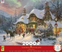 Ceaco Thomas Kinkade - Santa's Night Before Christmas Jigsaw Puzzle, 2000 Pieces