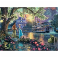 Thomas Kinkade The Disney Dream Collection The Princess and The Frog (750 Pieces) - 1