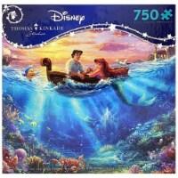 Thomas Kinkade Disney- The Little Mermaid 750 piece Jigsaw Puzzle
