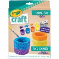 Crayola Craft Texture Pots Kit Art Kit - 1