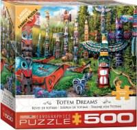 Eurographics Totem Dreams - 500 Piece Puzzle - Large Pieces - 1