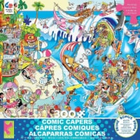 Ceaco Comic Capers The Wave - 300 Piece Puzzle - 1