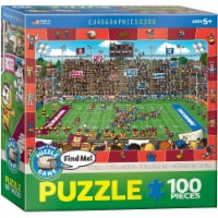 Eurographics Football Spot & Find Puzzle - 100 Pieces - 1