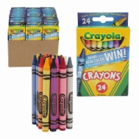 Crayola Crayons 24 Pieces - Name the New Color for a Chance to Win! - 1