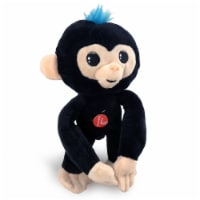 Fingerlings Black Pose-able 10 Inch Plush with Sound - 1
