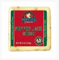 Maple Leaf Pepper Monterey Jack Cheese - 8 oz