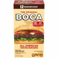 Boca Original All-American Veggie Burgers