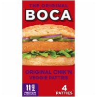Boca Original Chik'n Vegan Veggie Patties