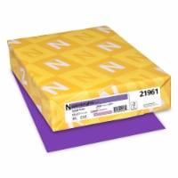 Astrobrights Color Paper, 24 Lb, 8.5 X 11, Gravity Grape, 500/Ream 21961 - 1