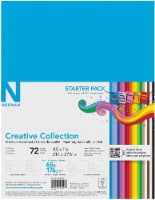 Neenah Creative Collection™ 65 lb Assorted Card Stock - 72 Sheets - 8.5 x 11 in