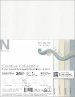 Neenah Creative Collection Metallic Cardstock - 24 Sheets